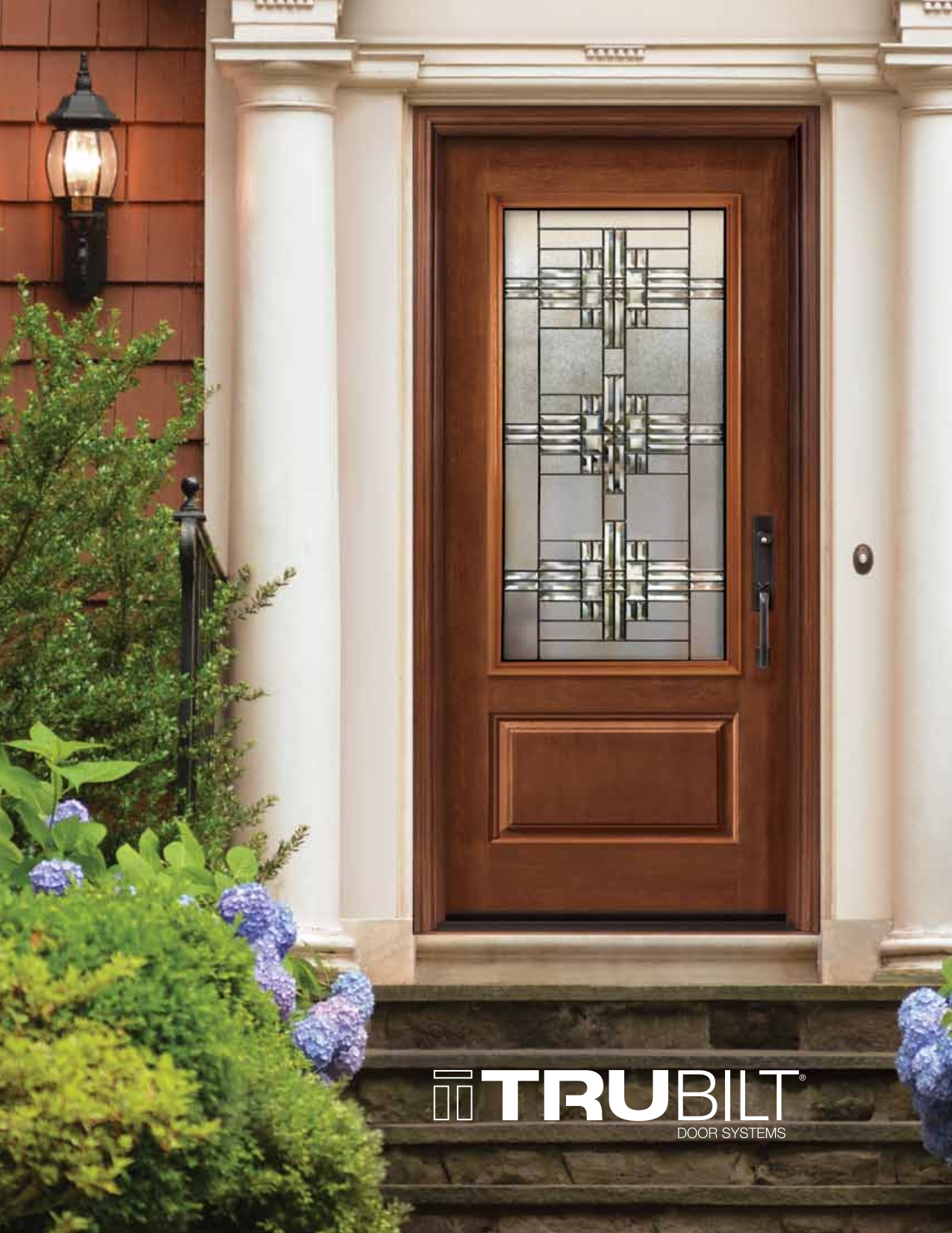 1650 #6B3C27 Steel Fiberglass Front Door Systems Trutech 001 EuroStar Windows And  save image Steel Front Doors 40871275