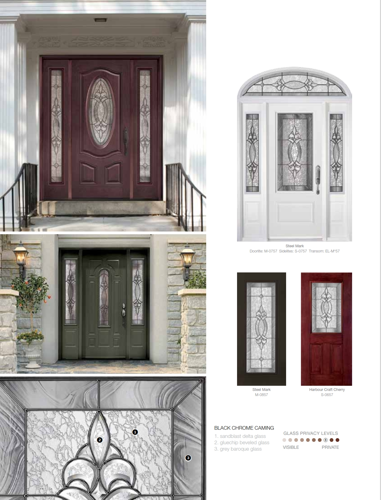 Front Entry Door Systems Steel Fiberglass TruTech TruBilt EuroStar Wi