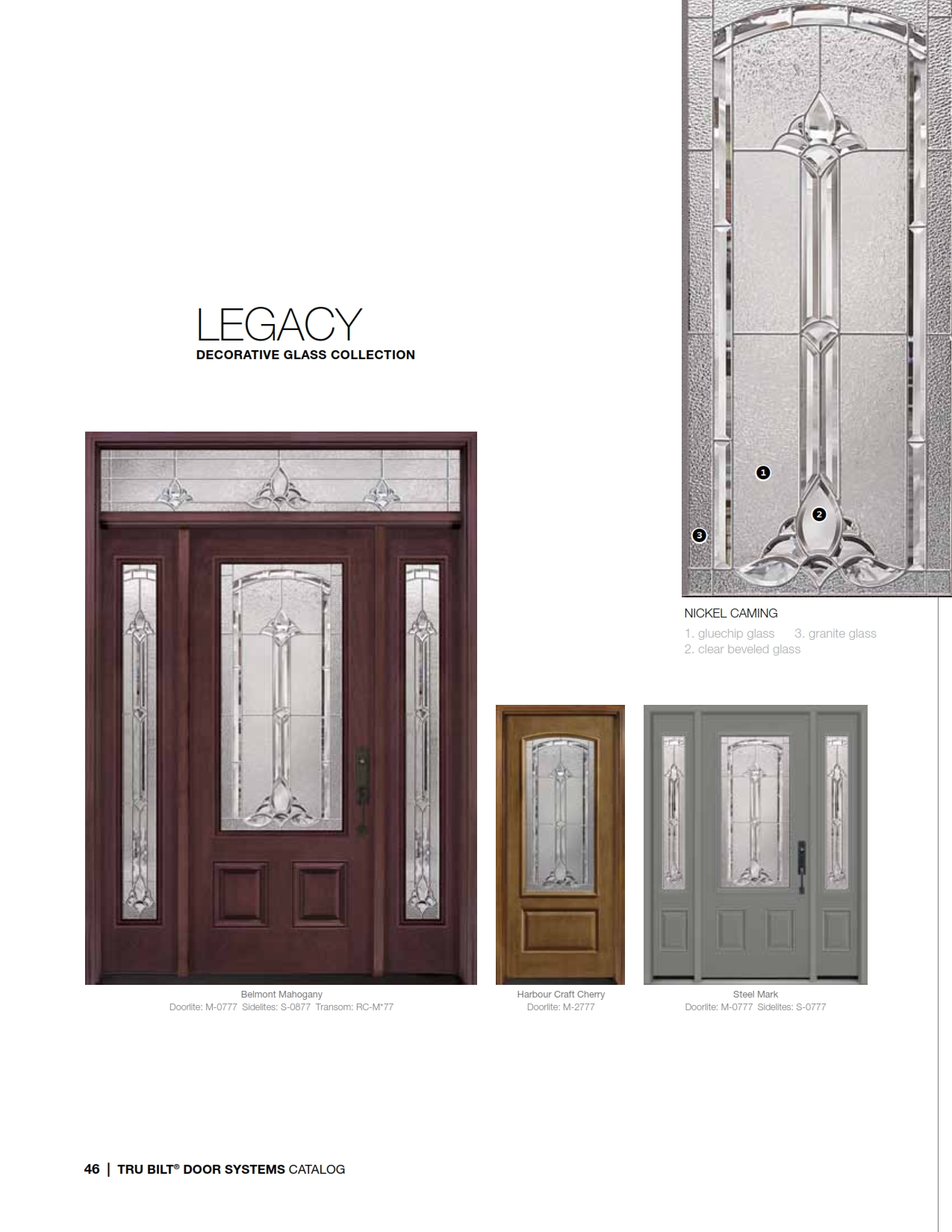 1650 #795C3A Steel Fiberglass Front Door Systems Trutech 046 save image Steel Front Doors 40871275