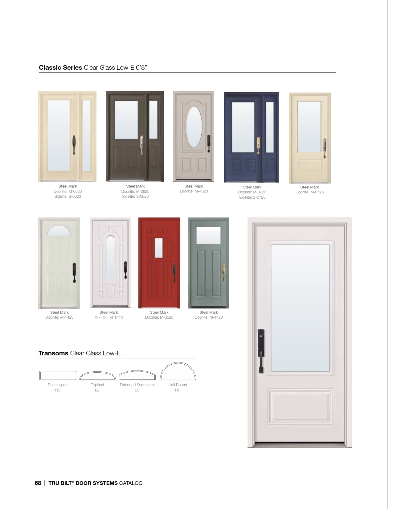Front entry door systems steel fiberglass trutech for Door entry systems