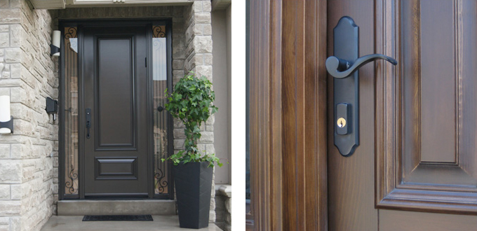 Steel and Fiberglass Front Entry Door Systems